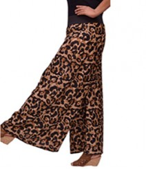 Big animal print Women's Palazzo Pants SSP1000