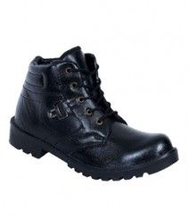 Elvace Black Das Boot Men Shoes 5009