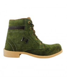 Elvace Green Comfy Boot Men Shoes 5010