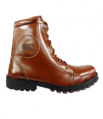 Elvace Dark Tan Shoes Boot Men Shoes 5017