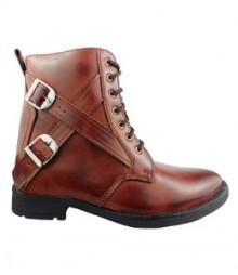 Elvace Brown Men Boot Men Shoes 5018