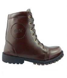 Elvace Brown Men Boot Men Shoes 5019