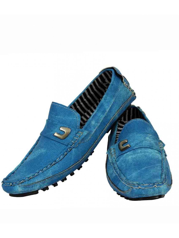 Zara Formal Shoe in Blue for Men  Lyst