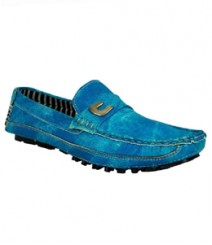 Elvace Blue Zara Loafer Men Shoes 6006