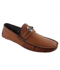 Elvace Tan Hugo Loafer Men Shoes 6008