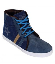 Elvace Blue Supraa Sneakers Men Shoes 7010