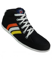 Elvace Black Men Sneakers Men Shoes 7016