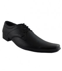 Elvace Black Shoes Formal Men Shoes 9009