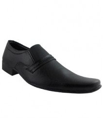Elvace Black Realblack Formal Men Shoes 9010