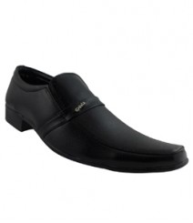 Elvace Black Devis Formal Men Shoes 9011