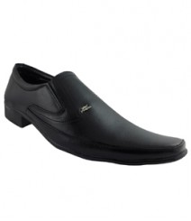 Elvace Black Pulsion Formal Men Shoes 9012