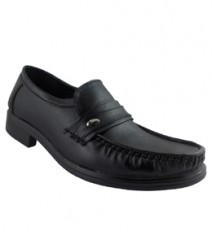 Elvace Black Gentleman Formal Men Shoes 9013