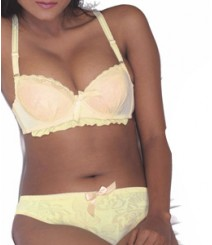 Imported Fabric Padded Bra and Panty Set