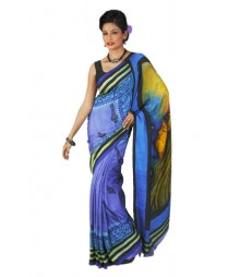 Creative Multi Colour Original Silk Saree BHN9127