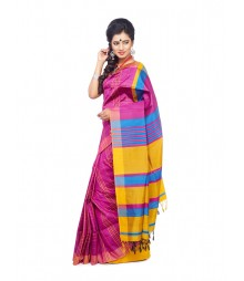 Magenta Colour Designer Saree CBB0027