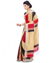 Multi Colour Art Silk Saree CBC0010