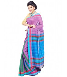 Multi Colour Designer Cotton Saree CBC005