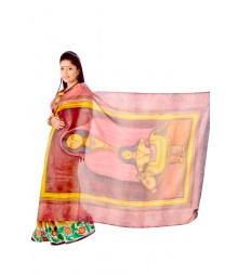 Modern Artwork Multi Colour Silk Saree DSC0127