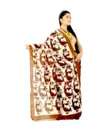 Batik Handwork Designer Saree DSC0155