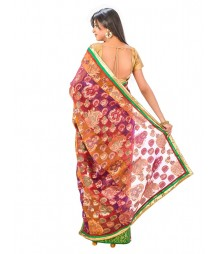 Banarasi Chanderi Silk Saree DSCE0064