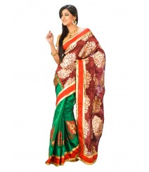 Banarasi Chanderi Silk Saree DSCE0112