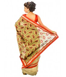 Designer Banarasi Cotton Silk Saree DSCE0401