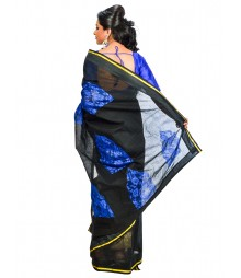 Black Color Designer Saree DSCE0583