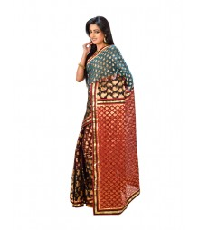 Designer Chanderi Silk Saree DSCE0728