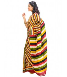 Multi Colors Self Design Wear Fashion Saree DSCH009
