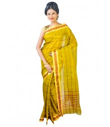Self Design Bengal Handloom Dhaniakhali Tant Cotton Saree FKB012