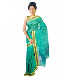 Self Design Bengal Handloom Dhaniakhali Tant Cotton Saree FKB014