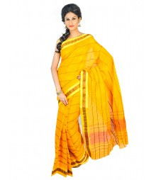 Self Design Bengal Handloom Dhaniakhali Tant Cotton Saree FKB017