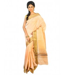 Self Design Bengal Handloom Dhaniakhali Tant Cotton Saree FKB021