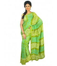 Self Design Bengali Hand Batik Saree FKB045