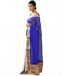 Blue & Golden Designer Collection Silk Saree MDL-S-SR1-008