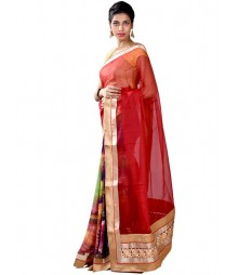 Mustard Color Charming Designer Collection Saree MDL-S-SR1-018