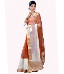 Coffee Color Designer Collection Saree MDL-S-SR1-025
