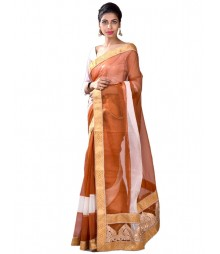 Brown & Golden Designer Collection Saree MDL-S-SR1-027