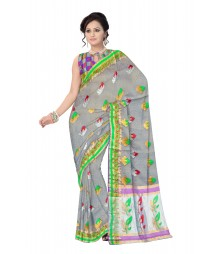 Multi Color Traditional Banarasi Designer Silk Saree ODA012