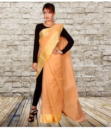 High Noon Colour Self Designer Cotton Saree TJA008
