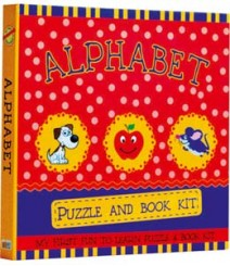 Buy Online Alphabet Puzzle & Book Kit in India 10-4