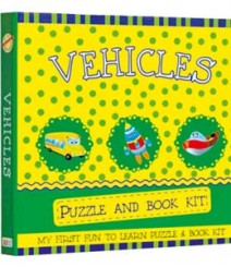 Buy Online Vehicles Puzzle & Book Kit in India 11-1