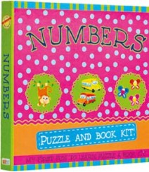 Buy Online Numbers Puzzle & Book Kit in India 12-8
