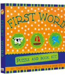 Buy Online First Word Puzzle & Book Kit in India 13-5