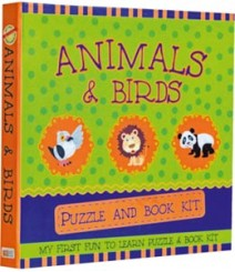 Buy Online Animals & Birds Puzzle & Book Kit in India 14-2