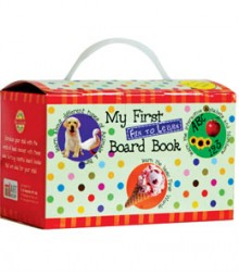 Buy Online My First Fun To Learn Board Book Box - Light Green (Set Of 8 Books) 16-6