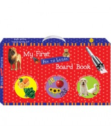 Buy Online My First Fun To Learn Board Book Box - Red (Set Of 6 Books) 22-7