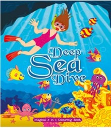 Buy Online Deep Sea Dive (Magical 5 in 1 Colouring Book) 24-1