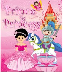 Buy Online Prince & Princess (Magical 5 in 1 Coloring Book) 25-8