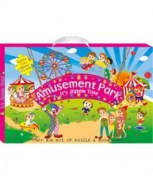 Buy Online Amusement Park (My Big Box Of Puzzle & Book Fun) 31-9